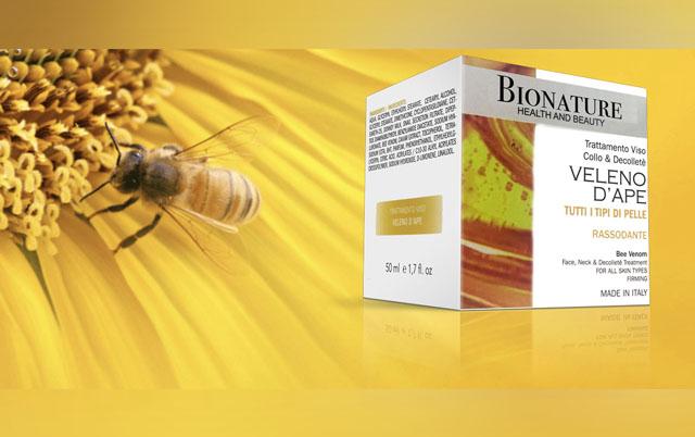 Crema Bionature anti-age al veleno d'ape