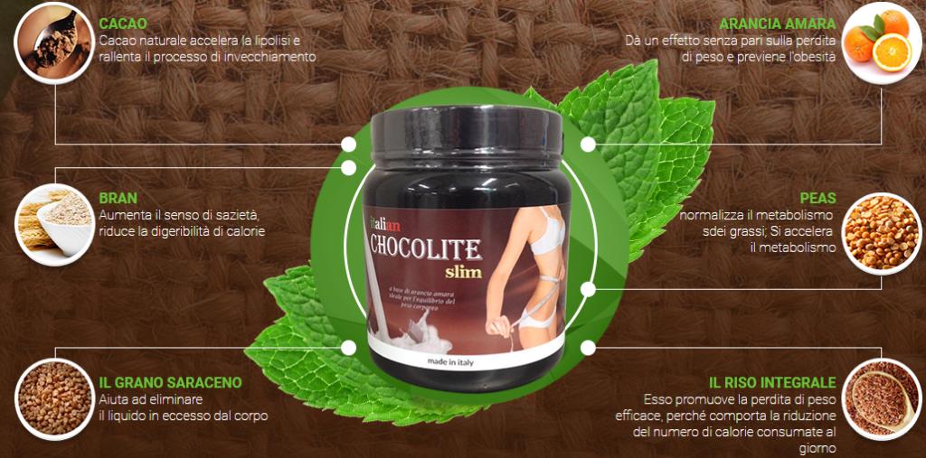 Integratore Chocolite Slim funziona veramente