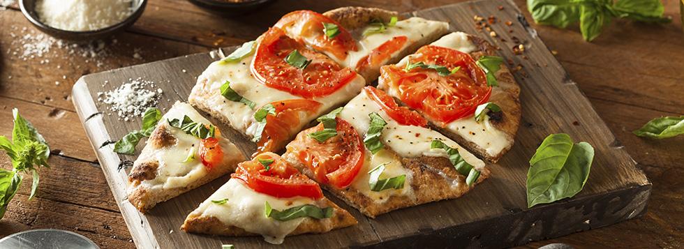 Pizza integrale calorie e preparazione