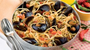 Spaghetti alle cozze e ricotta ricetta senza glutine