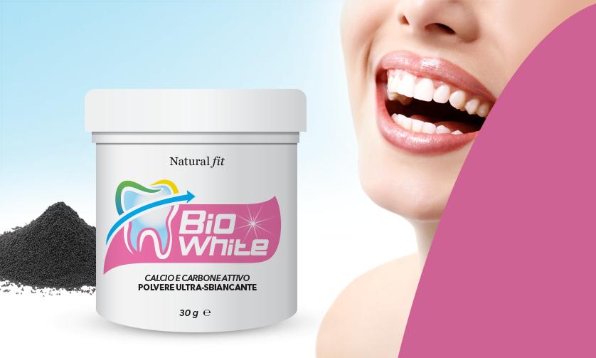 Bio White polvere sbiancante per i denti recensione completa del prodotto