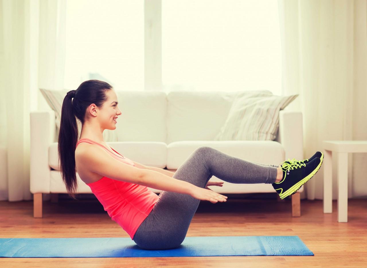 Fitness esercizi da fare a casa