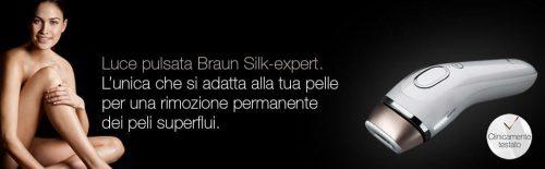 Braun BD 5009 Silk-expert Epilatore a Luce Pulsata + Esfoliatore Sonico per il Corpo Recensione
