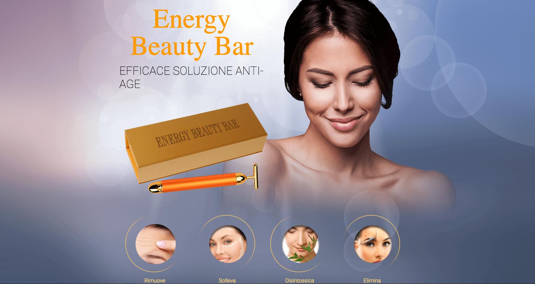 Energy Beauty Bar massaggiatore anti age recensione