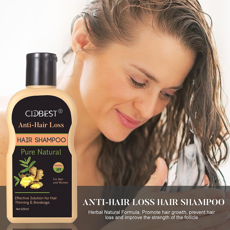Hair Regrowth Shampoo, Aiuta a Prevenire la Perdita di Capelli trattamento uomo, recensione
