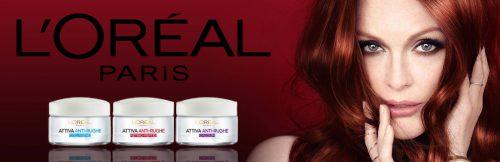 L'Oréal Paris Attiva Antirughe 55+ Crema Viso Donna Antirughe Riparatrice Giorno e Notte