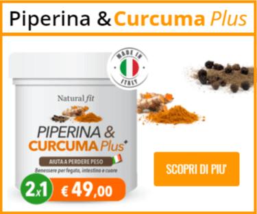 piperina curcuma offerta speciale
